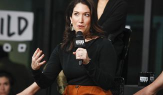 FILE - In this Oct. 17, 2017 file photo, Randi Zuckerberg, sister of Facebook founder Mark Zuckerberg, participates in the BUILD Speaker Series Be Fierce tech panel in New York. Alaska Airlines says it's investigating a claim that flight attendants allowed a passenger to sexually harass Zuckerberg on a flight. Zuckerberg took to social media Wednesday to detail her recent flight between Los Angeles and Mazatlan, Mexico. (Photo by Andy Kropa/Invision/AP, File)