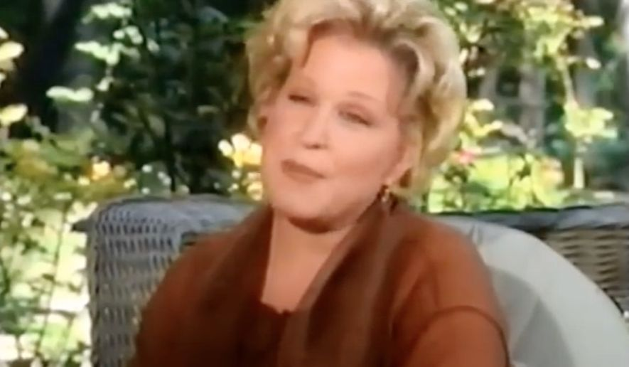 A 1991 clip of Bette Midler telling Barbara Walters that Geraldo Rivera drugged and groped her decades earlier resurfaced Thursday after Mr. Rivera sparked a backlash online for defending fired NBC host Matt Lauer against sexual misconduct allegations. (YouTube)