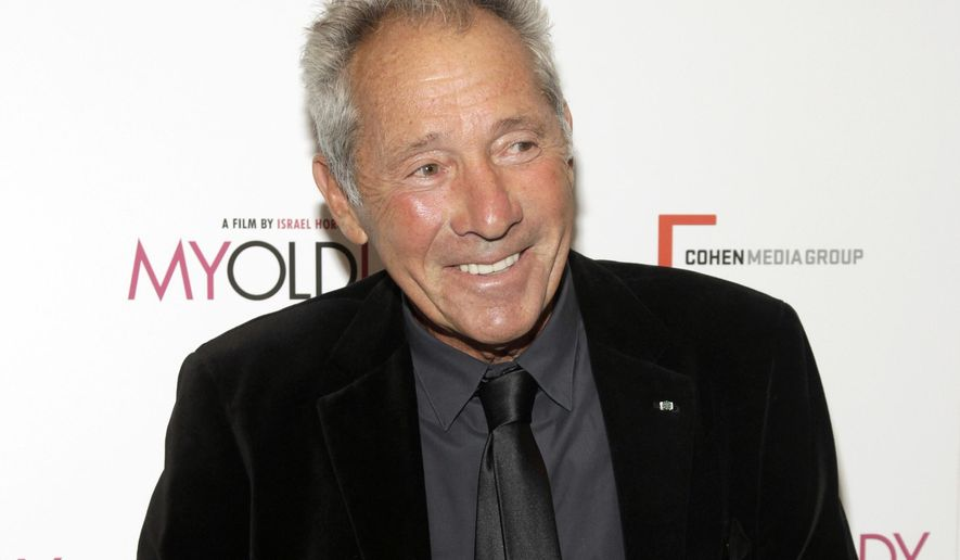 """FILE - In this Sept. 9, 2014 file photo, playwright-screenwriter Israel Horovitz attends the premiere of """"My Old Lady"""" in New York.  Horovitz, who faces multiple allegations of sexual harassment, has departed from the Gloucester Stage Company. The Massachusetts-based theater announced Thursday, Nov. 30, 2017, that Horovitz had left after officials there confronted him about a New York Times story detailing on-the-record allegations. (Photo by Andy Kropa/Invision/AP, File)"""
