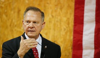 Despite the multiple sexual misconduct allegations against Republican Senate candidate Roy Moore, he's leading in the polls in Alabama. (Associated Press)