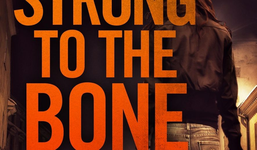 """This cover image released by Forge Books shows """"strong to the Bone,"""" a novel by Jon Land. (Forge Books via AP)"""