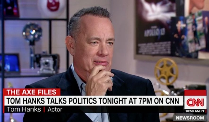 """Tom Hanks said the Trump administration is engaging in an """"insidious"""" attack campaign against the American press in an effort to delegitimize it. (CNN)"""