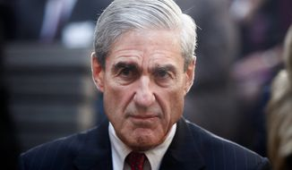 It's special counsel Robert Mueller and his investigation that are in disarray, not President Trump. The probe has hit a massive speed bump. (Associated Press)