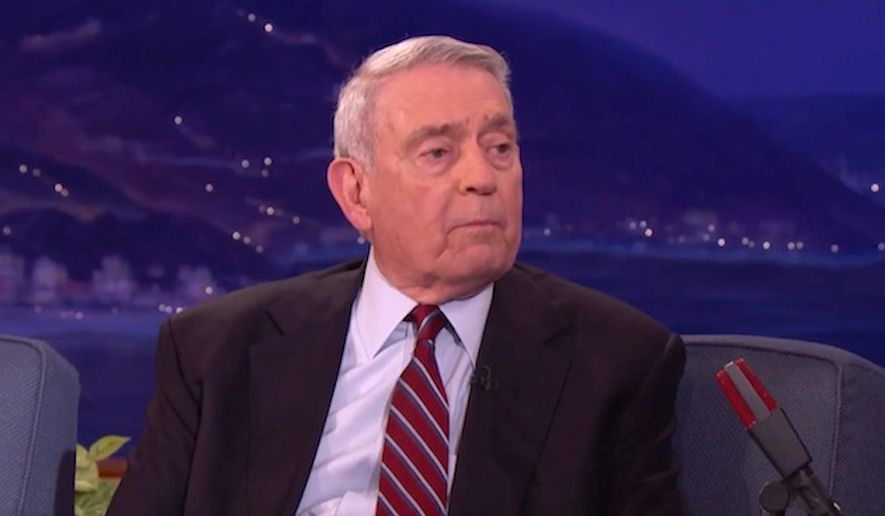 "Former CBS journalist Dan Rather told comedian Conan O'Brien on Dec. 4, 2017, that President Trump's tenure in the White House is ""unprecedented in American history"" for his attacks on the media. (Image: YouTube, Team Coco)"