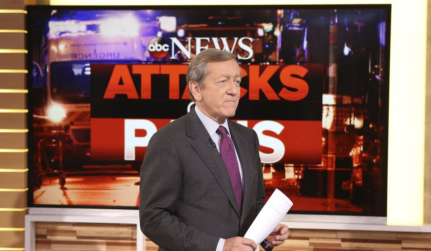 """Correspondent Brian Ross speaks on """"Good Morning America,"""" which airs on the ABC Television Network, in New York. (Fred Lee/ABC via AP) ** FILE **"""