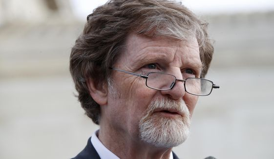 Jack Phillips brought to the Supreme Court what might be the biggest case of its kind since the high court legalized same-sex marriage nationwide in 2015. Justices heard oral arguments Tuesday in Masterpiece Cakeshop v. Colorado Civil Rights Commission  on Tuesday. (Associated Press)