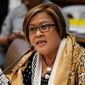 """Filipino Sen. Leila de Lima, an outspoken critic of firebrand populist President Rodrigo Duterte, has been in jail since February, but that hasn't stopped her crusade to draw attention to what she calls """"flagrant"""" rights abuses being carried out by the government in Manila. (Associated Press)"""