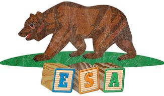 Education Savings Accounts for Californians Illustration by Greg Groesch/The Washington Times