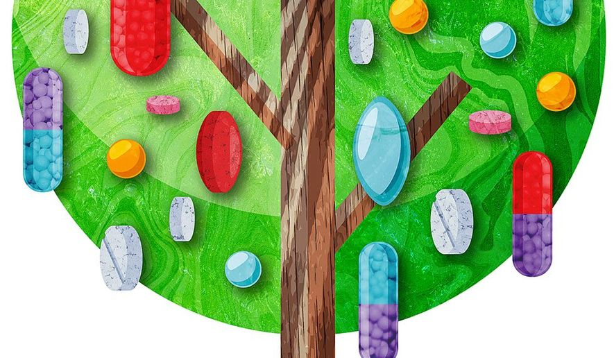 Affordable Pharmaceuticals Illustration by Greg Groesch/The Washington Times