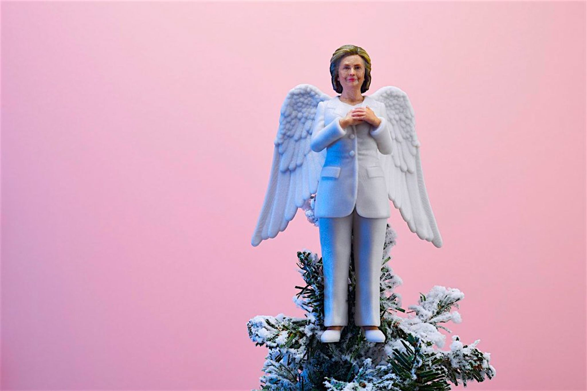 Inside The Beltway Resistmas The Hillary Clinton Christmas Tree