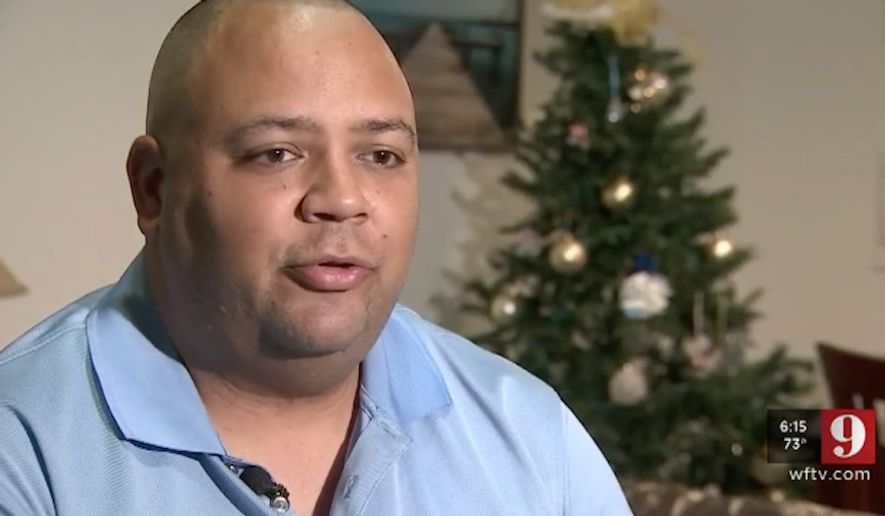Eatonville Police Cpl. Omar Delgado, who was credited with saving a man's life during the 2016 Pulse nightclub terrorist attack and now suffers from post-traumatic stress disorder, is reportedly being terminated from the force and taking a cut to his pension. (WFTV)
