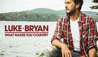 """This cover image released by Capitol Nashville shows """"What Makes You Country,"""" the latest release by Luke Bryan. (Capitol Nashville via AP)"""