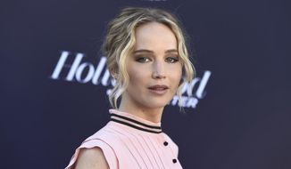 Jennifer Lawrence arrives at The Hollywood Reporter's Women in Entertainment Breakfast at Milk Studios on Wednesday, Dec. 6, 2017, in Los Angeles. (Photo by Jordan Strauss/Invision/AP)