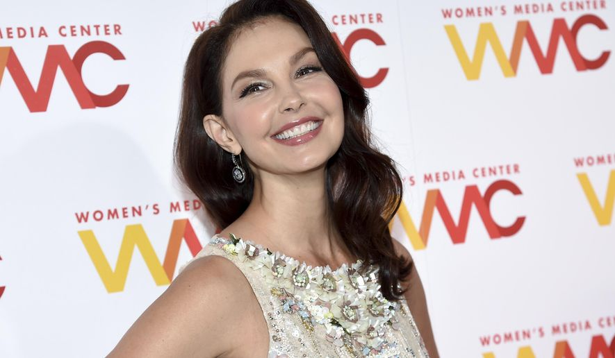 FILE - In this Oct. 26, 2017 file photo, actress Ashley Judd attends The Women's Media Center 2017 Women's Media Awards at Capitale in New York. Judd is one of several women featured on the cover of Time magazine's Person of the Year. Judd spoke out against Hollywood mogul Harvey Weinstein helping to spawn the #MeToo movement, with millions of people telling stories of sexual misconduct on social media. (Photo by Evan Agostini/Invision/AP, File)