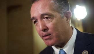 Rep. Trent Franks, R-Ariz., Trent Franks is resigning from Congress. (AP Photo/Cliff Owen, File)