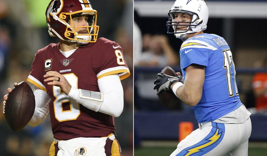 adae0b175 Sports · Washington Redskins · Philip Rivers · FILE - At left
