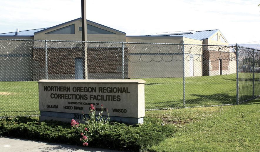 FILE - This undated file photo shows the Northern Oregon Regional Corrections Facility in The Dalles, Ore. The Wasco County Board of Commissioners is demanding action after a report claims the juvenile jail mistreats youth. (The Dalles Chronicle via AP, File)