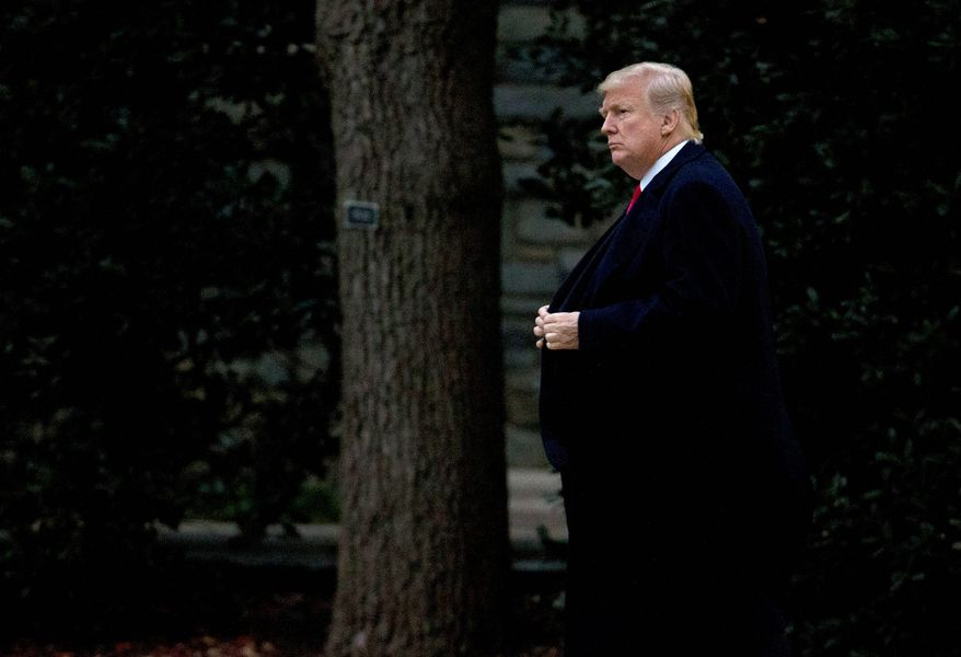 President Trump may have to swallow hard before signing the tax cut bill when it reaches his desk, but whether he will accept more generous child tax credits for illegal immigrants is a big question. (Associated Press)