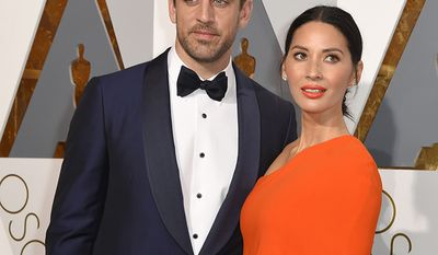 Green Bay Packers quarterback Aaron Rodgers and actress Olivia Munn broke up in April after three years together.