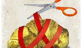 Removing Government Intervention Illustration by Greg Groesch/The Washington Times