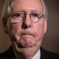 "Majority Leader Mitch McConnell dodged questions about how he'll lead the Senate now: ""All of those are good questions for tomorrow."" (Associated Press/File)"