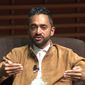"""Former Facebook executive Chamath Palihapitiya feels """"tremendous guilt"""" for helping build the world's largest social media network, saying it's helping to fuel the spread of """"misinformation"""" and destroying the way civil society works. (YouTube/@Stanford Graduate School of Business)"""