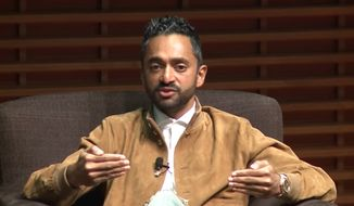 "Former Facebook executive Chamath Palihapitiya feels ""tremendous guilt"" for helping build the world's largest social media network, saying it's helping to fuel the spread of ""misinformation"" and destroying the way civil society works. (YouTube/@Stanford Graduate School of Business)"