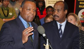 """""""I wish I could tell you that Montgomery County is immune from (the opioid) epidemic. Unfortunately, I cannot do that,"""" said county executive Ike Leggett. (Associated Press)"""