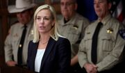"Homeland Security Secretary Kirstjen Nielsen, in her first week on the job, said, ""We are going to make it very, very difficult to remain here unlawfully."" The remark was too strong for her own officers and agents. (Associated Press)"