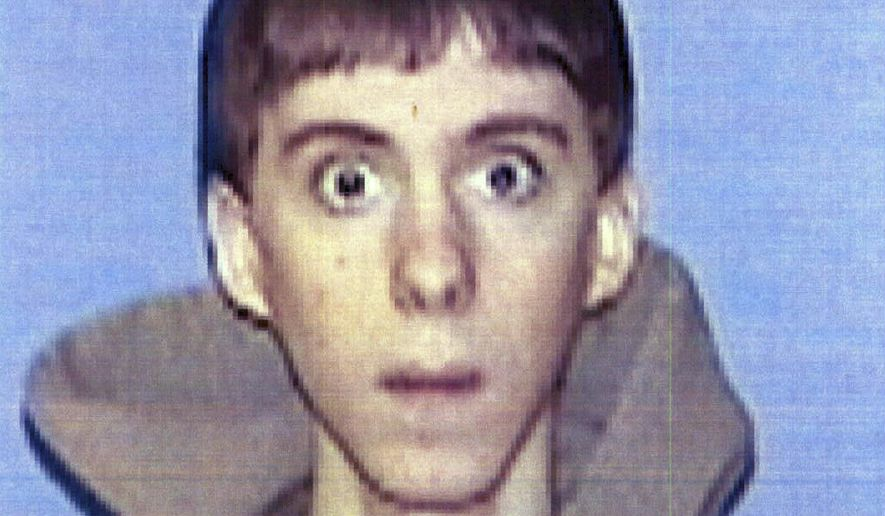 FILE - This undated identification file photo released Wednesday, April 3, 2013 by Western Connecticut State University in Danbury, Conn., shows former student Adam Lanza, who authorities said opened fire inside the Sandy Hook Elementary School in Newtown, Conn., on Friday, Dec. 14, 2012, killing 26 students and educators, after killing his mother at their home. A 2014 report by the Office of Connecticut Child Advocate concluded that Lanza's actions were not directly caused by his psychiatric problems, but it noted that his mother rejected psychologists' recommendations that her son should be medicated and undergo treatment for anxiety and other conditions. (AP Photo/Western Connecticut State University, File)