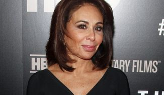 """FILE - In this Jan. 28, 2015 file photo, Jeanine Pirro attends the HBO Documentary Series premiere of """"THE JINX: The Life and Deaths of Robert Durst"""" in New York. A civil rights activist is suing Fox News host Pirro, claiming she defamed him while discussing a lawsuit against the Black Lives Matter movement that was later dismissed. The suit, which also names Fox News Network, was filed in New York on Tuesday, Dec. 12, 2017. (Photo by Andy Kropa/Invision/AP, File)"""