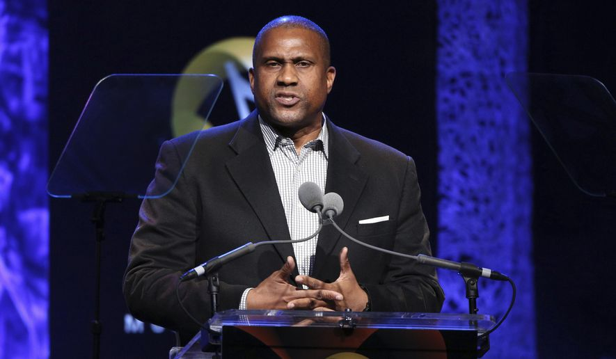 """In this April 27, 2016, file photo, Tavis Smiley appears at the 33rd annual ASCAP Pop Music Awards in Los Angeles. PBS says it has suspended distribution of Smiley's talk show after an independent investigation uncovered """"multiple, credible allegations"""" of misconduct by its host. (Photo by Rich Fury/Invision/AP, File)"""