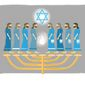 Illustration on Hanukkah by Linas Garsys/The Washington Times
