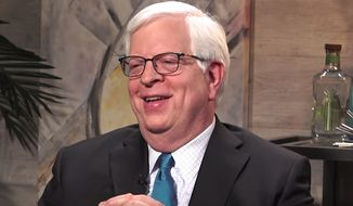 Radio host Dennis Prager. (Image: YouTube, The Rubin Report) ** FILE **