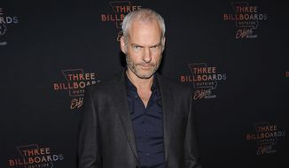 """FILE - In this Nov. 7, 2017 file photo, Martin McDonagh attends the premiere of """"Three Billboards Outside Ebbing, Missouri"""" at BAM Cinema, in New York. The central character in """"Three Billboards Outside Ebbing, Missouri"""" probably wouldn't exist without Frances McDormand, and writer-director McDonagh says such strong characters and actresses are something to celebrate in an industry reeling from revelations of widespread sexual misconduct. The film was nominated for six Golden Globes and four Screen Actors Guild Awards this week. (Photo by Christopher Smith/Invision/AP, File)"""