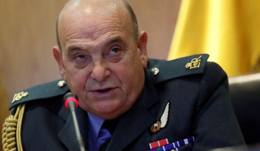 Sir Stuart Peach, Britain's Air Chief Marshal