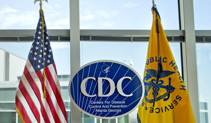 """FILE - This Nov. 19, 2013 file photo shows a Centers for Disease Control and Prevention logo at the agency's federal headquarters in Atlanta. Reacting to a Friday, Dec. 15, 2017 story in The Washington Post, health leaders say they are alarmed that officials at the CDC, the nation's top public health agency, are being told not to use certain words or phrases in official budget documents, including """"fetus,"""" ''transgender"""" and """"science-based."""" (AP Photo/David Goldman, File)"""