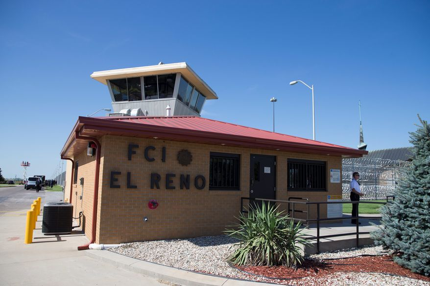 The El Reno Federal Correctional Institution in Oklahoma is one of more than 1,500 prisons that are considered federal property, according to the General Services Administration's most complete report ever on the breadth of the government's footprint. (Associated Press)