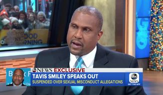 "Talk-show host Tavis Smiley said Monday that PBS ""made a huge mistake"" in firing him and that he intends to ""do anything"" to protect his reputation against sexual harassment allegations. (ABC)"