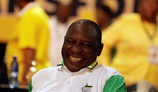 The election of Cyril Ramaphosa as president of the African National Congress is seen as a particularly sweet triumph for a small minority long overshadowed by more powerful blocs in post-apartheid South African politics. (Associated Press)