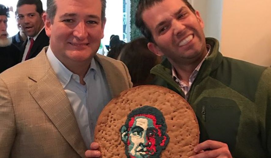 Stephan Courseau, owner of French restaurant Le Bilboquet in Dallas, has apologized to customers after Donald Trump Jr. and Sen. Ted Cruz posed for a photo inside his restaurant with a cake bearing Barack Obama's image, which some critics deemed racist. (Instagram/@donaldjtrumpjr)