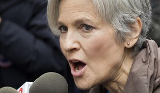 Jill Stein, the Green Party presidential candidate, says she's cooperating with a Senate intelligence committee probe into Russian interference in the election. (Associated Press)