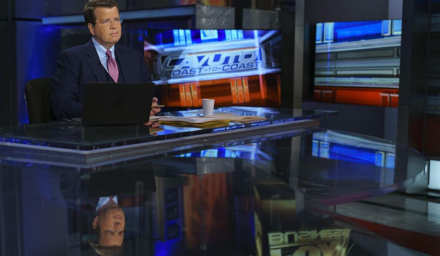 """This undated image released by Fox Business Network shows Neil Cavuto, host of """"Cavuto Coast to Coast,"""" in New York. Fox News is President Donald Trump's favorite venue for interviews but Cavuto, who anchors one hour each weekday on Fox News Channel and two on the Fox Business Network, revealed in an on-air commentary that he won't ask for an interview. (Fox Business Network via AP)"""