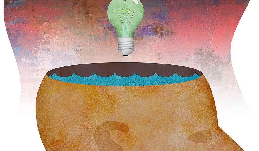 Gone Fishing for Intellectual Property Illustration by Greg Groesch/The Washington Times