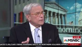 """Veteran news anchor Tom Brokaw declared Thursday that Fox News is on a """"jihad"""" to defend President Trump's """"assault"""" on American institutions. (MSNBC)"""