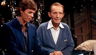 David Bowie and Bing Crosby (Rex Features via AP Images)