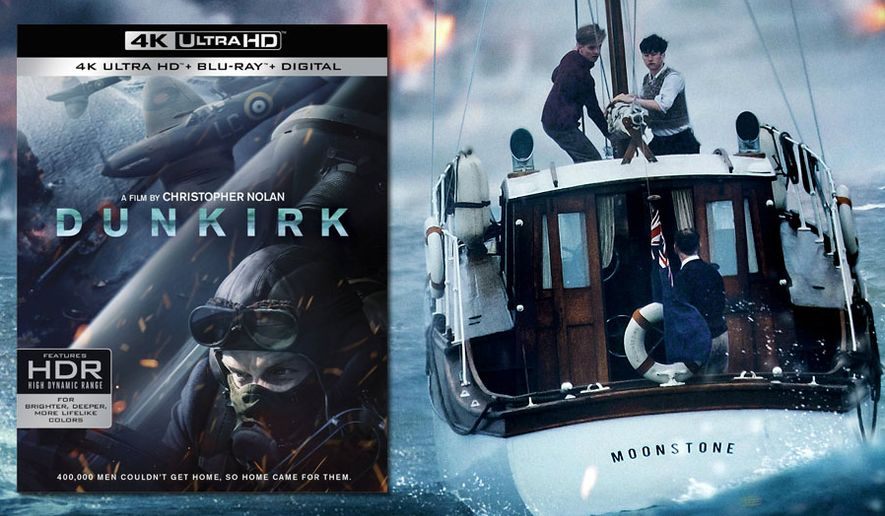 """Dunkirk"" is now available on 4K Ultra HD from Warner Bros. Home Entertainment."