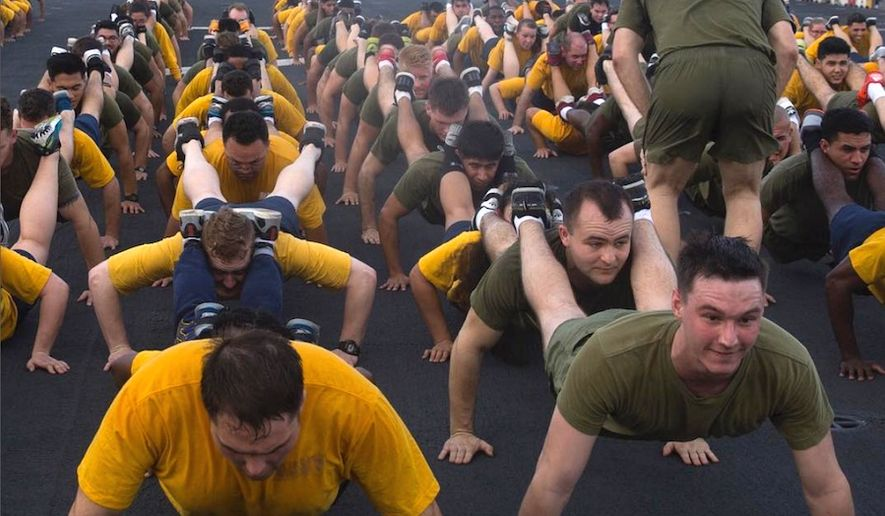 The U.S. Navy is granting an administrative reprieve to roughly 50,000 sailors whose careers were at risk due to fitness test failures. (Image: Instagram, U.S. Navy)