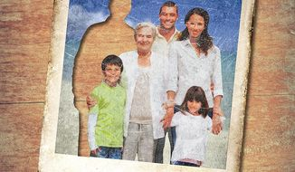 Missing Family Member Illustration by Greg Groesch/The Washington Times