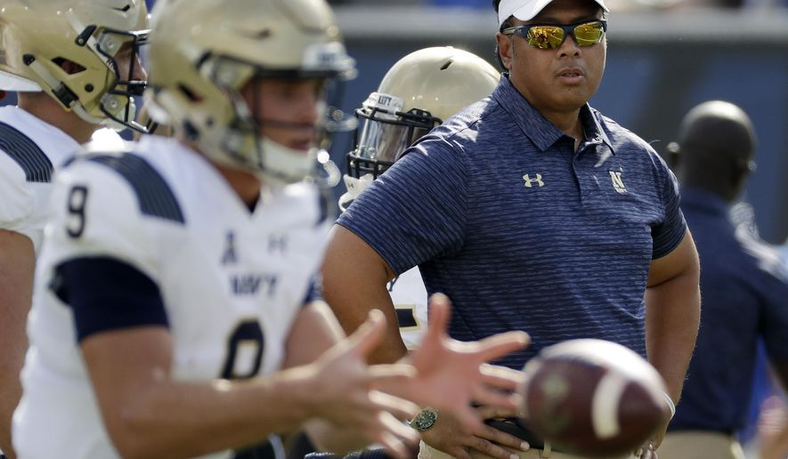 Navy 2018 Football Schedule Takes Team To Five Time Zones